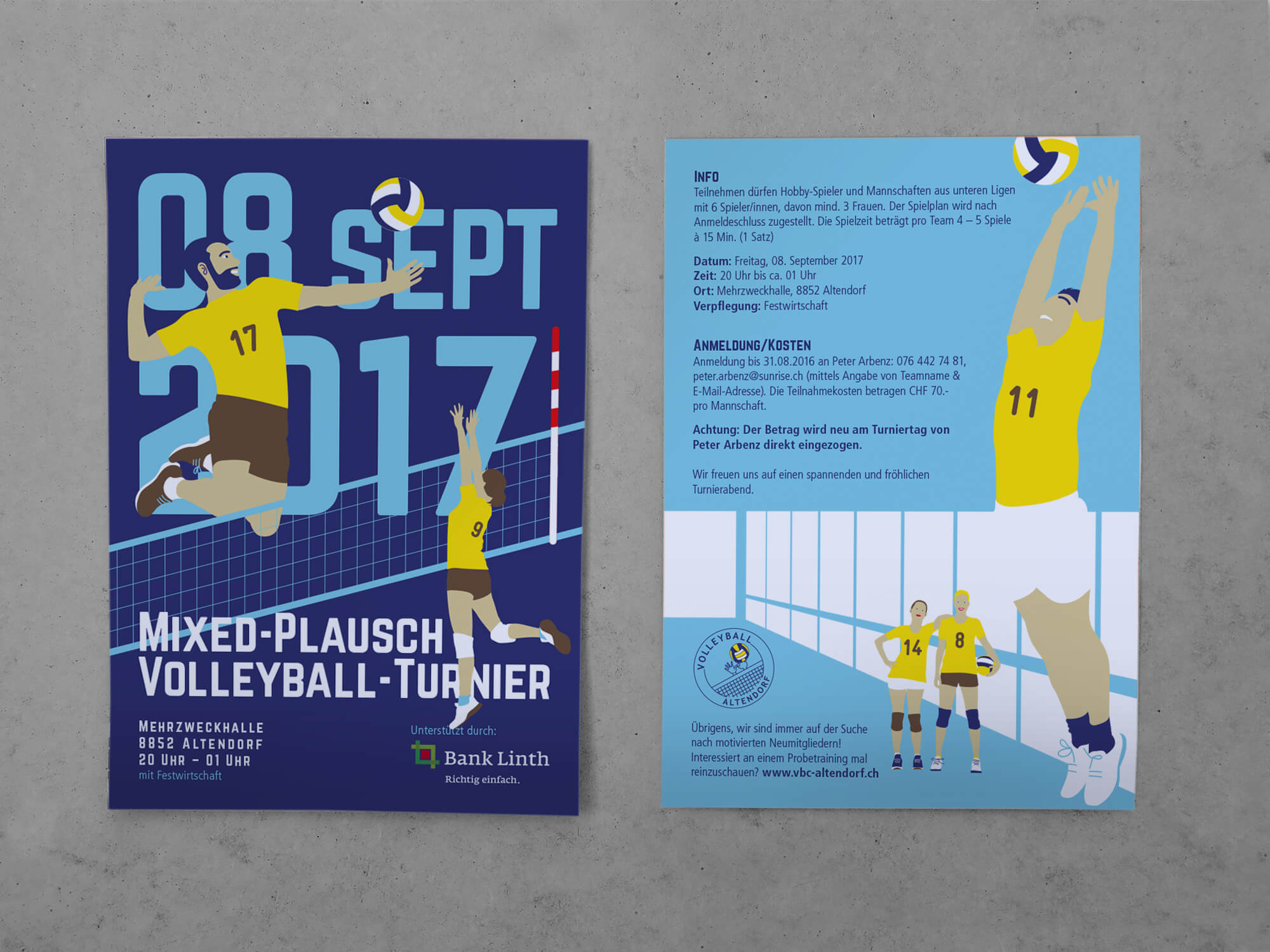 Volleyball_Altendorf_Flyer_Kim-Arbenz