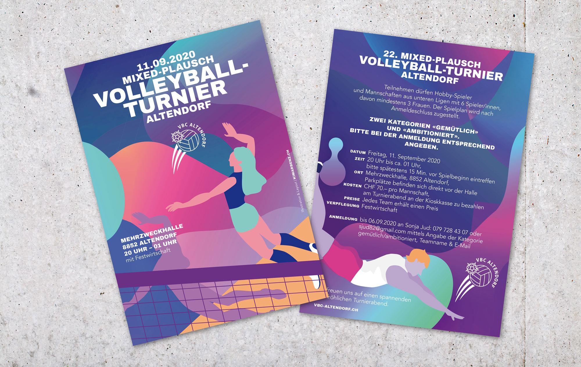 Volleyball Altendorf Flyer 2020