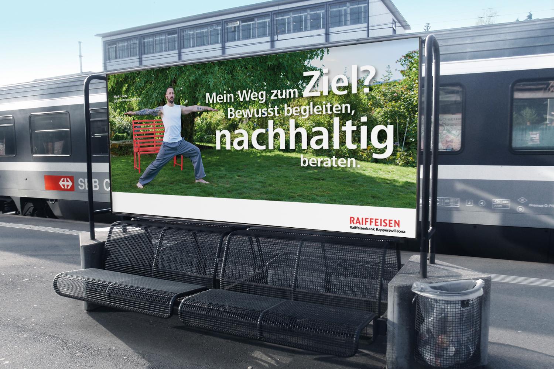 Raiffeisen Imagekampagne F12 Plakat