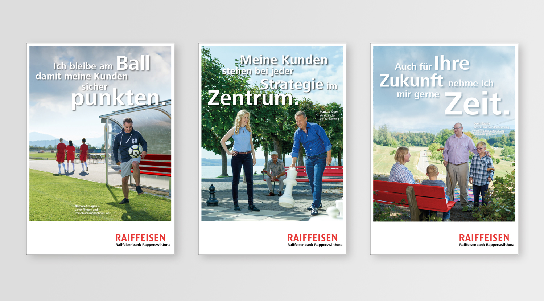 Raiffeisen Imagekampagne F4 Plakat